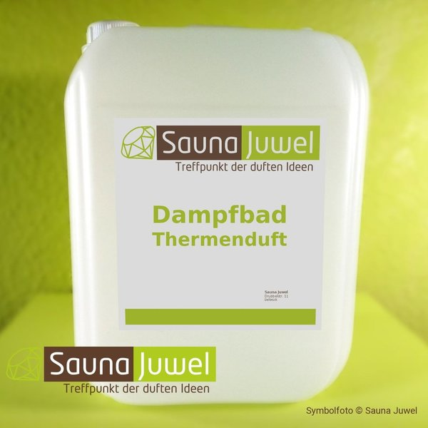 Champagner 10 Liter Dampfbad-Thermenduft