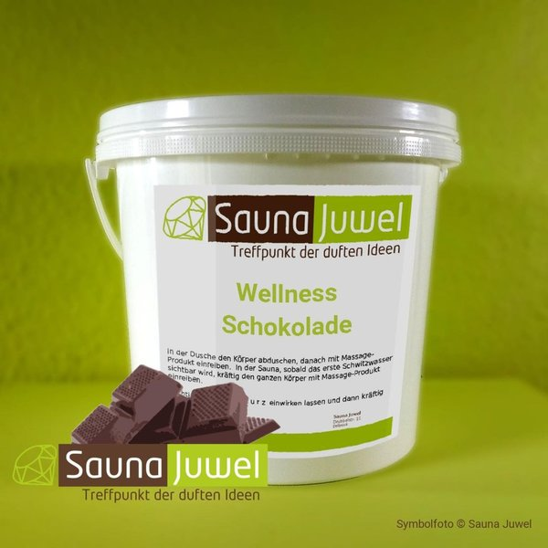 Black 5 kg Wellness-Schokolade