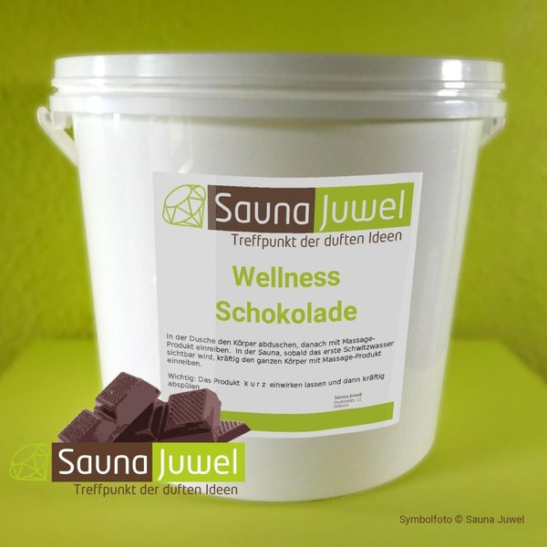 Black 10 kg Wellness-Schokolade
